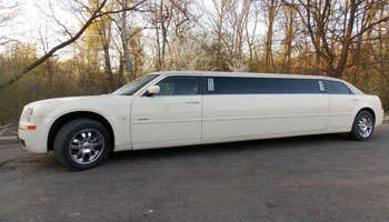 Chrysler Limo rental in Bucharest Romania